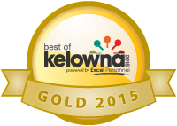 Best of Kelowna Winner Gold 2015