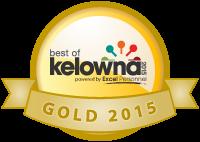 Best of Kelowna Winner Gold 2015