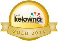 Best of Kelowna Winner Gold 2016